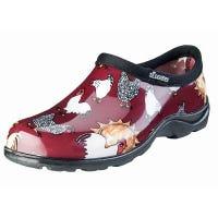 Sloggers Chicken Barn Red Waterproof Garden Shoe for Women