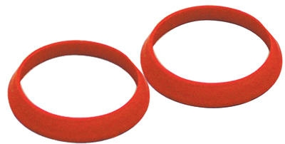 Image of Drain Slip Joint TPR Washer, Rubber, 1.5-In.