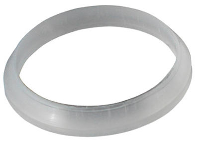 Image of Drain Washer, Plastic Poly, Beveled, 1.25 x 1.25-In.