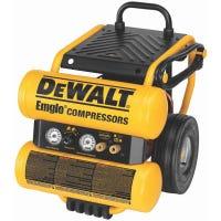 Electric Air Compressor, Wheeled, 1.1-HP, 4-Gallon
