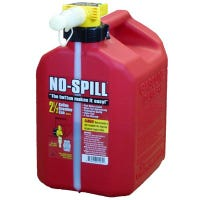 No-Spill Gas Can, CARB Compliant, 2.5-Gal.
