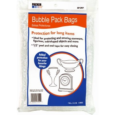 Image of Bubble Pack Bags, 7.25 x 11-In., 6-Pk.
