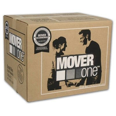 Mover One Small Moving Box, 16 x 12.5 x 12.5-In.