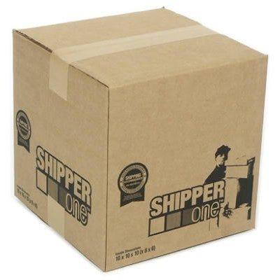 Shipper One Shipping Box, 12 x 12 x 12-In.