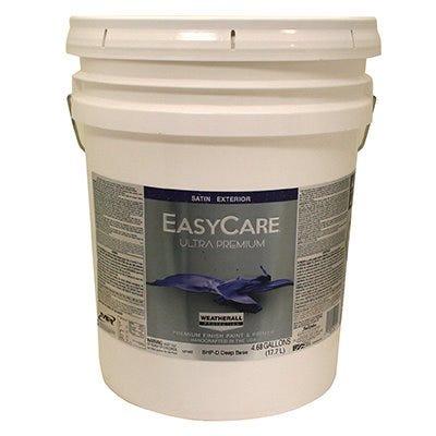Ultra Premium Exterior Latex Paint, Satin Deep Base, 5-Gallons