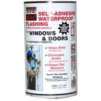 Flashing, Window & Door, Self-Adhesive, Waterproof, 9-In. x 33-Ft.