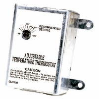 Thermostat for Attic Fans, Single-Speed