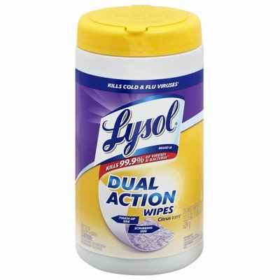 Image of 35-Count Dual-Action Wipes