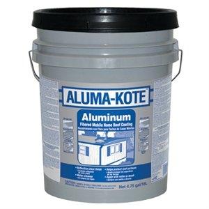 Image of Aluminum Roof Coating, Fibered, 4.75-Gals.