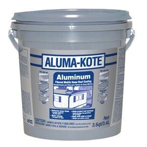 Image of Aluminum Mobile Home Roof Coating, Fibered, 3.6-Qts.