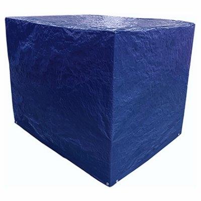 Image of Polyethylene Pallet Tarp Cover, Blue, 5 x 4 x 4-Ft.