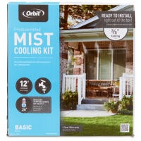 Outdoor Mist Cooling System, 3/8-In. x 10-Ft.