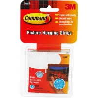 8-Count Small Picture Hanging Strip