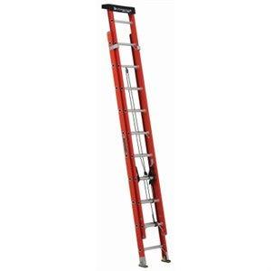 20-Ft. Extension Ladder, Fiberglass, Type 1A, 300-Lb. Load Capacity