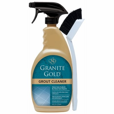 Image of Grout Cleaner & Brush, 24-oz.