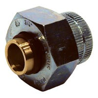 Pipe Fitting, Dielectric Union, Lead Free, 3/4 x 1/2-In.