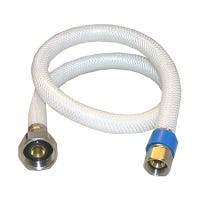 Faucet Connector, Flexible Poly, 3/8 Compression x 1/2 IP x 24-In.