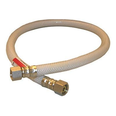 Appliance & Faucet Connector, Flexible Poly, 3/8 Compression x 3/8 Compression x 24-In.