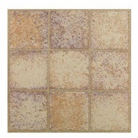 Sandstone Peel & Stick Vinyl Floor Tile, 12 x 12-In.