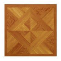 Parquet Peel & Stick Vinyl Floor Tile, 12 x 12-In.
