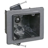 2-Gang Draft Tight Electrical Outlet Box