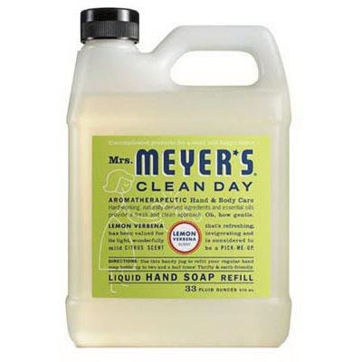 Lemon Scent Liquid Hand Soap Refill Bottle, 33-oz.