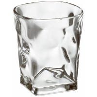 Baroque Double Old Fashioned Tumbler, Clear Acrylic, 15-oz.