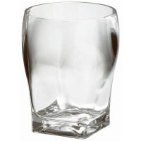 Fanta Double Old Fashioned Tumbler, Clear Acrylic, 16-oz.