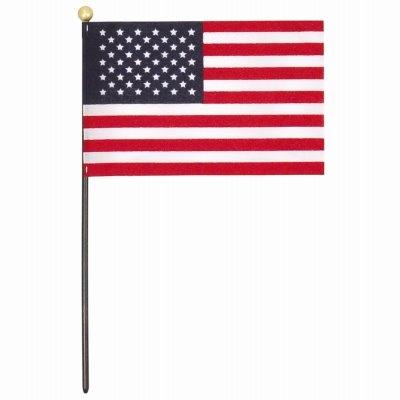 Image of U.S. Handheld Flag, 4 x 6-In.