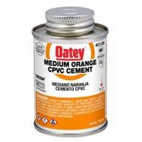 4-oz. Orange Medium-Bodied CPVC Pipe Cement