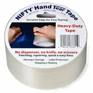 Image of Nifty Serrated Heavy-Duty Tape, 1.88-Inch x 55-Yard