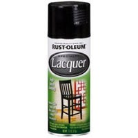 Specialty Lacquer Spray Paint, Black Gloss, 11-oz.