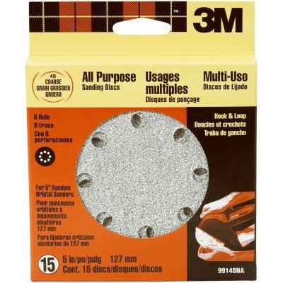 Image of 15-Pack 5-Inch Coarse-Grit Hook & Loop Sanding Disc