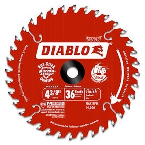 Image of 4-3/8-Inch 36-TPI Trim Saw Blade