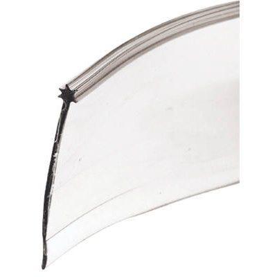 Shower Door Bottom Seal, Clear, 1-5/16-In.