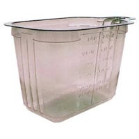 Measuring Cup, Plastic, 1/2-Cup
