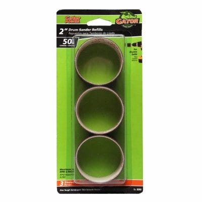 3-Pack 2x1-1/2-Inch Coarse Resin Cloth Sleeve