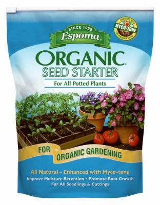 Image of Seed Starter Potting Mix, Organic, 8-Qts.