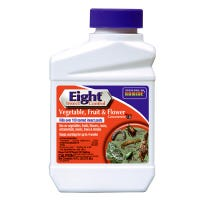 Eight Insect Control Vegetable, Fruit, Flower Insecticide, 16-oz.