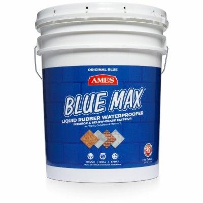 Image of Blue Max Liquid Rubber Waterproofing Coating, Regular Grade, 5-Gals.