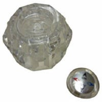 Tub & Shower Replacement Handle, Acrylic, Single
