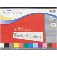 Academie Book Of Colors Construction Paper, 12 x 9-In., 48-Ct.