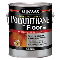 1-Gallon Gloss Fast-Drying Low-VOC Polyurethane Floor Finish