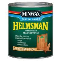 Helmsman Semi-Gloss Water-Based Spar Urethane, Qt.