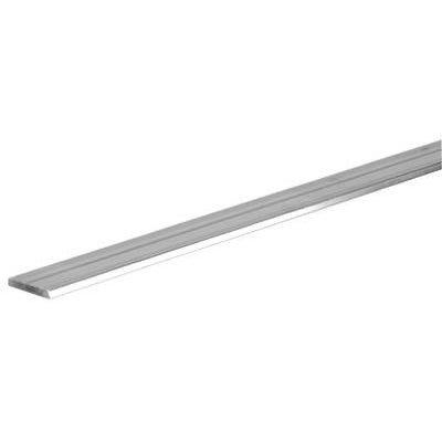 Flat Aluminum Bar, 1/8 x 3/4 x 48-In.