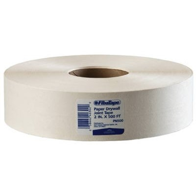 Image of Paper Drywall Joint Tape, White, 2-In. x 500-Ft.