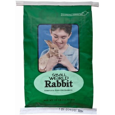 Image of Small World Rabbit Feed, 10-Lbs.
