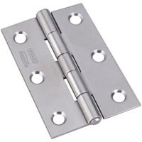 3-In. Stainless Steel Narrow Tight Pin Light-Duty Hinge