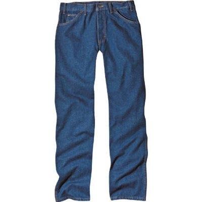 Image of 5-Pocket Jeans, Rinsed Denim, Regular Fit, Men's 34 x 30-In.