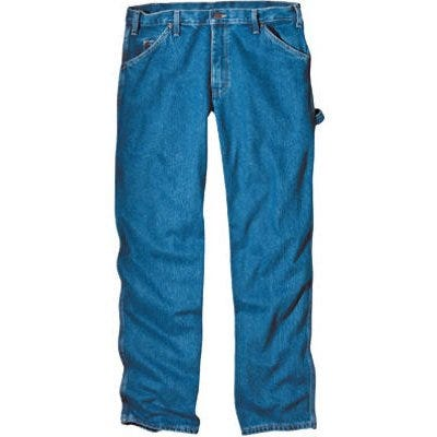 Carpenter Jeans, Stonewash Denim, Relaxed Fit, Men's 40 x 30-In.